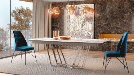 Mesa Extensível Bercy , Mesa de Jantar Graca Interiores