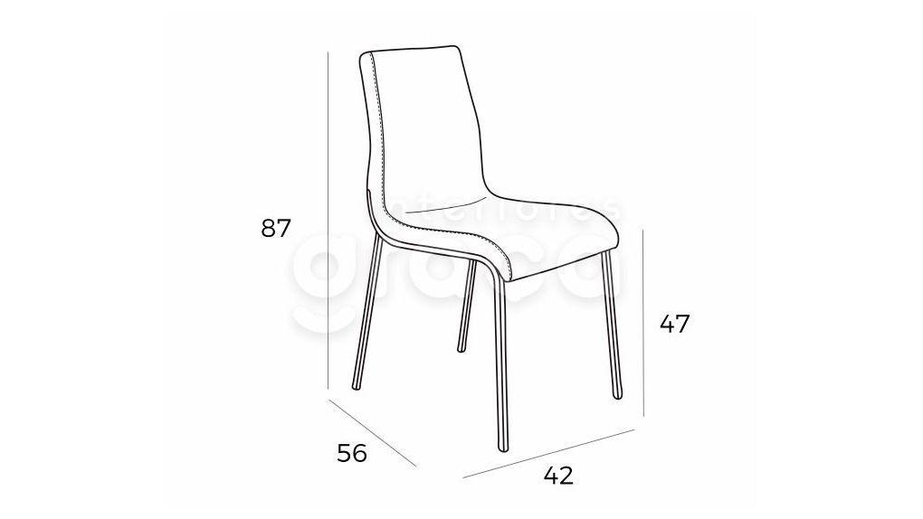 Cadeira Carly, Cadeiras Graca Interiores