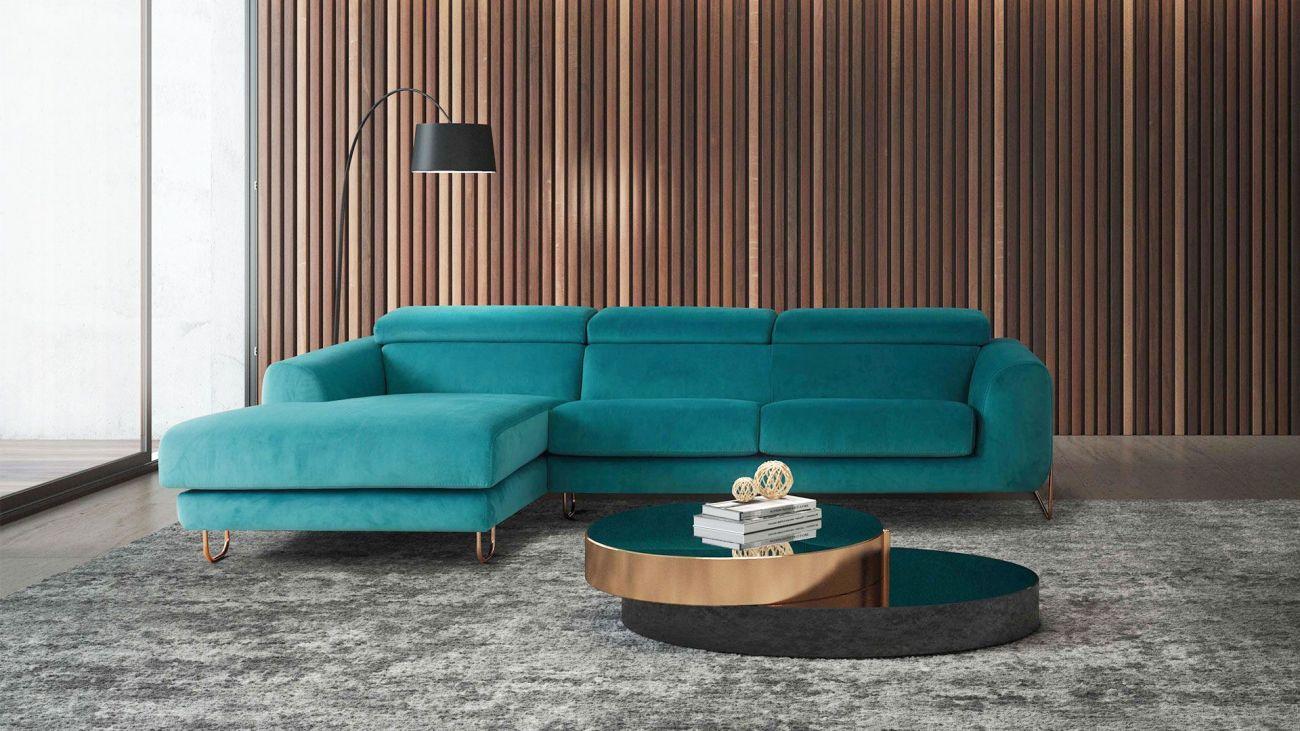 Sofá chaise Flux, Sofa Chaise Longue Graca Interiores