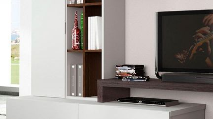 Base BL 1600 2 Gavetões, Moveis de TV Graca Interiores