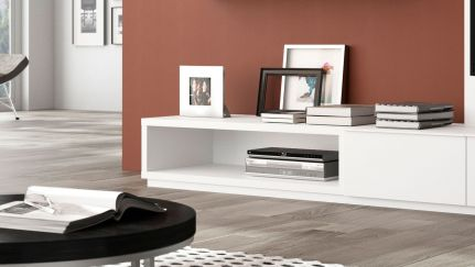 Base BL 1200 Aberta, Moveis de TV Graca Interiores