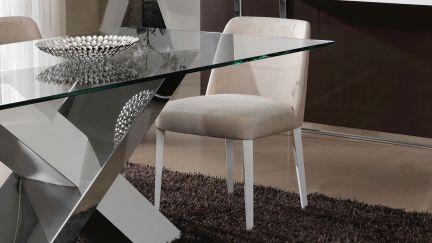 Cadeira Estofada Lotus