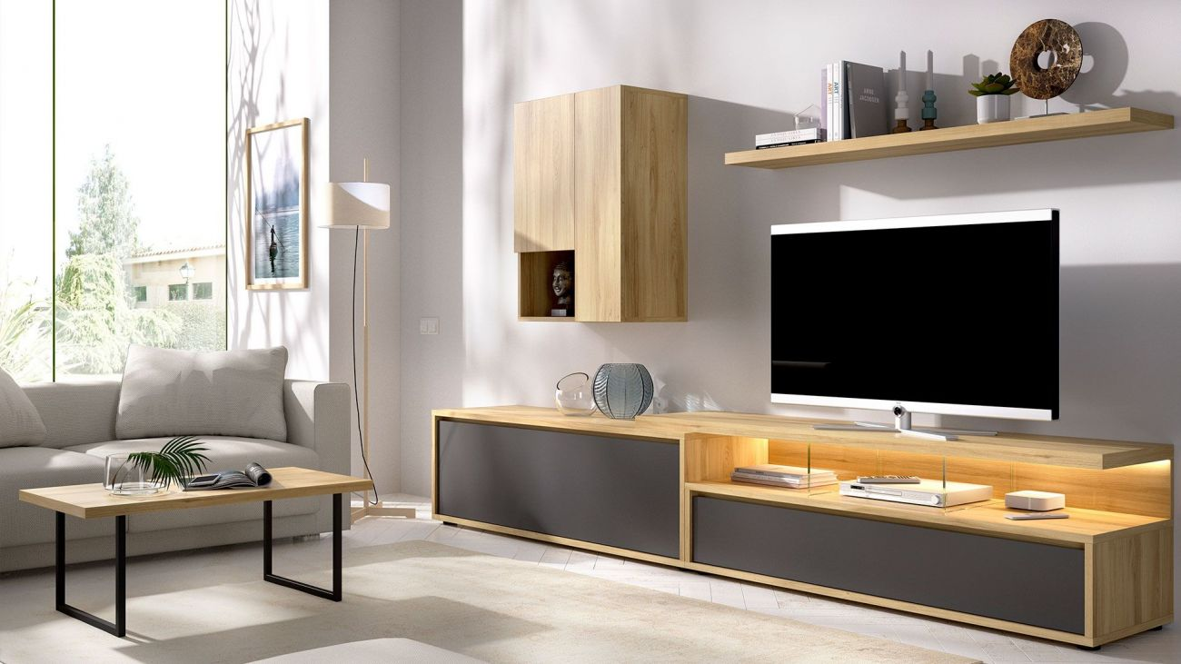 Estante TV Duo 42, modulo tv