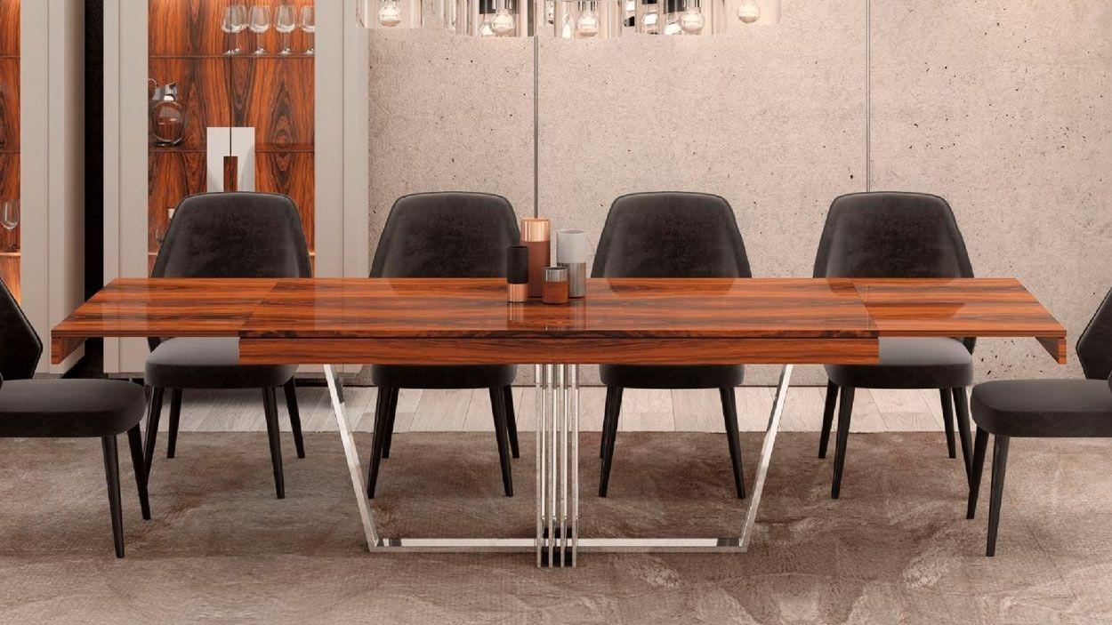 Mesa Extensível Shiver, Mesa de Jantar Graca Interiores
