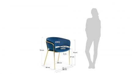 Cadeira Konnie, Cadeiras Graca Interiores