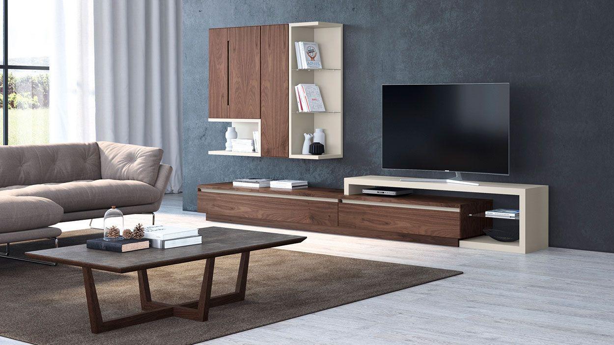 Estante TV Lyra 23, modulo tv