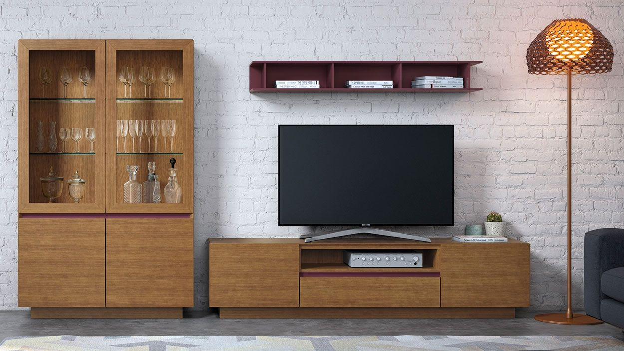 Estante TV Lyra 24, modulo tv