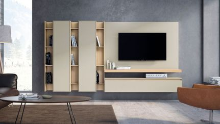 Estante TV Lyra 26, modulo tv