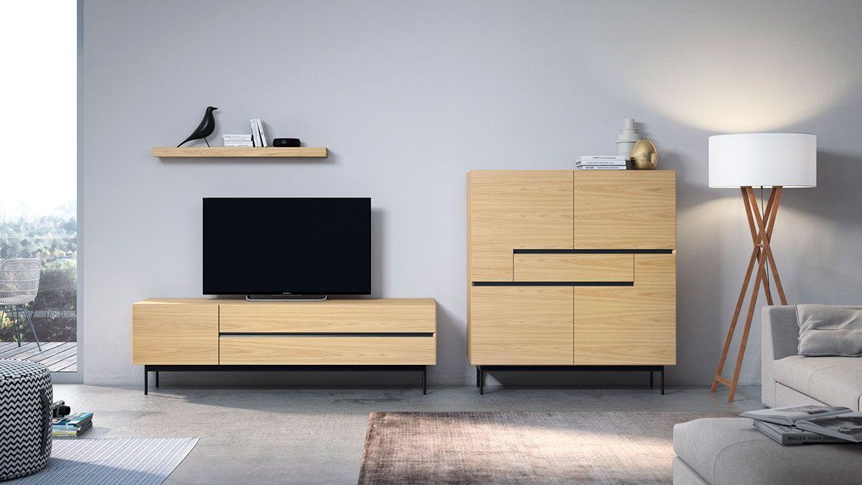 Estante TV Lyra 27, modulo tv