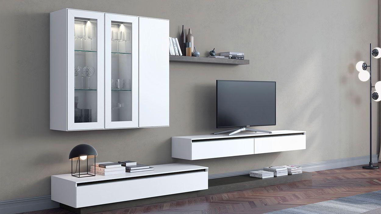 Estante TV Lyra 35, modulo tv