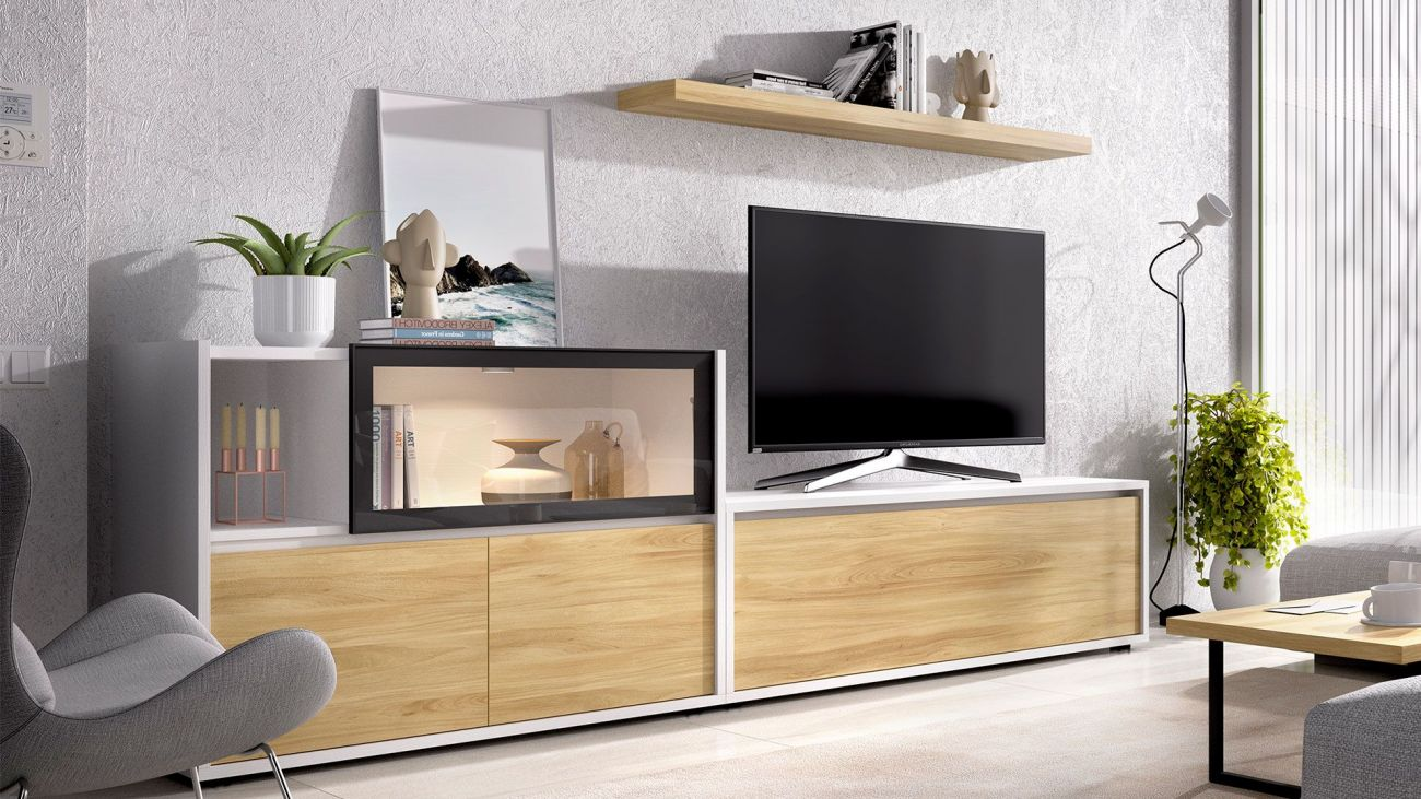 Estante Tv Duo 24, modulo tv
