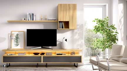 Estante TV Duo 40