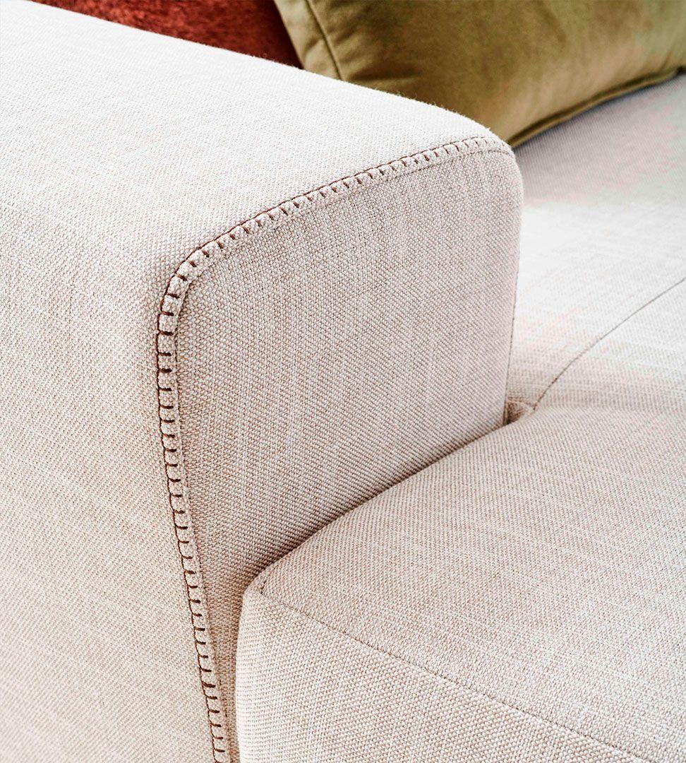 Sofá Chaise Lloyd, Sofa Chaise Longue Graca Interiores